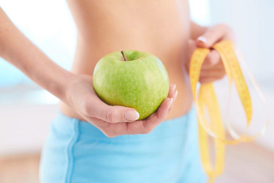 Похудение на зеленых яблоках